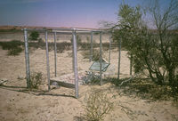 Grave of an unidentified park ranger within the Kgalagadi Transfrontier Park