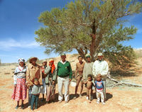 "Karel ""Vet Piet"" Kleinman and members of the 