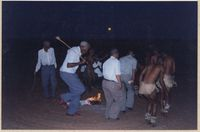 Healing dance demonstration at the Kalahari Cultural Week