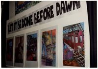 Let it be done before dawn' exhibition