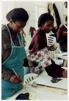 Ncumisa Gqadu and Nombulelo Ntsali, Painting 1 class