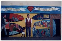 Mural painted by students