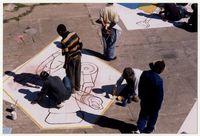 Designing floor murals
