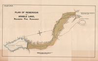 Plan No. 2, Plan of reservoir and arable land, Rooiberg Pan, Kenhardt