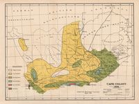 Cape Colony 1896 : adapted from Meteorological Commission's Report, 1886