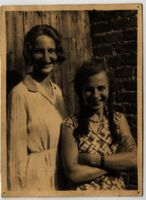 Edith Bruch and another woman, Germany, 1932-1934