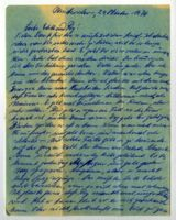 Letter from Herta and Jakob, Montevideo, Uruguay, to Edith and Roy Sorell, South Africa, 1976