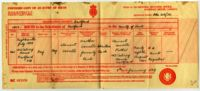 Birth certificate of Roy Sorrell, Dartford, Kent, England, 1970