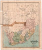 Philips' new map of Southern Africa, including the Cape Colony, Transvaal, and Natal