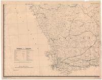 Union of South Africa, south western sheet