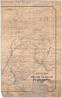 Sketch Map of South African Telegraphs