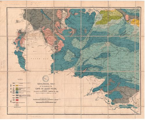 Geological map of the Colony of the Cape of Good Hope, sheet I | UCT ...