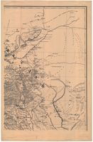 Original map of Great Namaqualand and Damaraland