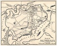 Plan of Mombasa