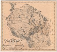 Physiographical map of Tanganyika Territory