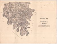 District Map of Tsomo, Transkei. Sheet no. 2