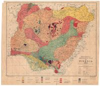 Provisional geological map of Nigeria