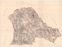 District map of Tsomo, Transkei. Sheet no. 1