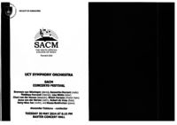 UCT Symphony Orchestra: SACM Concerto Festival, Baxter Concert Hall, Cape Town, South Africa