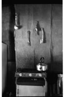 Cooking utensils and stove
