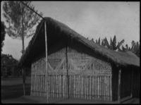 Traditional-style long hut (ikibaga)