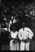Leonard Mwaisumo and wife