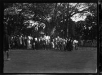 Crowd, possibly at a ngoma dance
