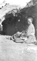 "//z Bushwoman & newborn baby Grondneus, Gordonia ""Marie"""