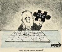 Apartheid puzzle
