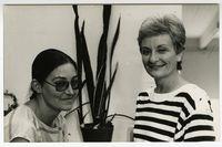 [Two delegates at the Black Sash National Conference, 1989]