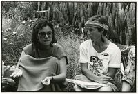 Talking in small groups at Black Sash Conference, March 1989