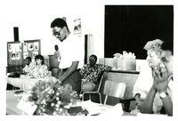 [Matthew Goniwe addressing the Black Sash National Conference in Port Elizabeth, March 1985]