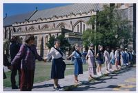 Peace Day Stand, Grahamstown Cathedral, September 1993