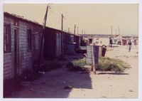 Hostel conditions in Gugulethu 1990s