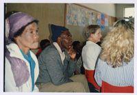 Sash Monitors join victims at Sister Mosala's press conference at Sosibenza Primary School