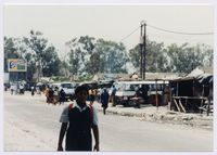 Terminus Road approach to Nyanga Bus terminus 1991/1992