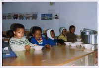 Visit to a creche in Nyanga East with David Mkhize-Siseko