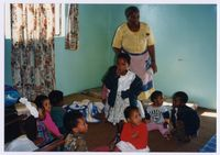 [Visit to a creche in Nyanga East with David Mkhize-Siseko]
