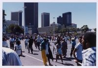 Grand Parade, Cape Town, on day of inauguration of President Mandela