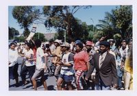 [Grand Parade, Cape Town, on day of inauguration of President Mandela]