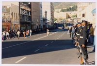 The Opening of the first democratic parliament; awaiting the arrival of President Mandela