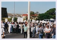Monitoring with the PMF - Peace Monitoring Forum - of a Muslim march in Cape Town