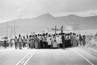 Ai-Gams' march heading to Khomasdal