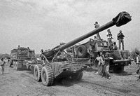 Withdrawal of G5 Howitzers from southern Angola