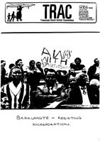 Braklaagte: Resisting Incorporation: Paper Presented at National Conference 1989