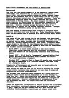 Black Local Government and the Crisis in Khayelitsha: Paper Presented at National Conference 1991