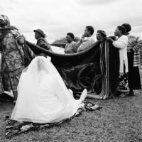 Shembe or Nazareth Baptist Church wedding