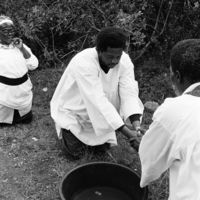 Cleansing ceremony prior to a wedding