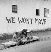 """We won't move!"", Sophiatown in defence, 1955"