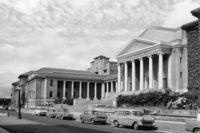 University Avenue and Jameson Hall